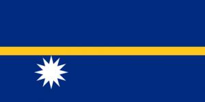 Naurus flagga
