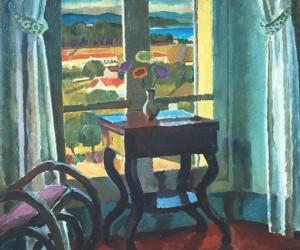 Interiör med bord