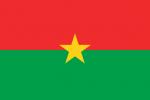 Burkina fasos flagga
