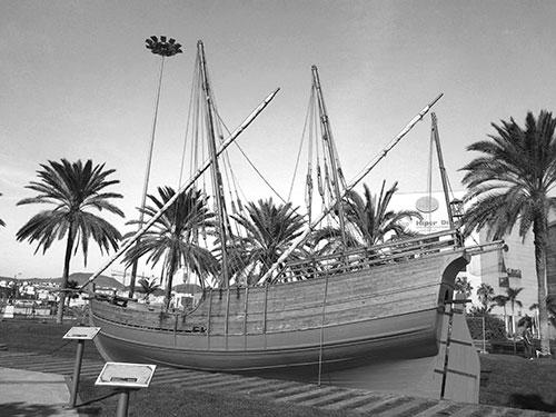 Columbus båt Niña