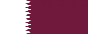 Qatars flagga