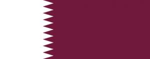 Qatars flagga