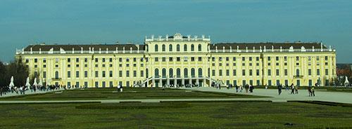 Slottet Schönbrunn i Wien
