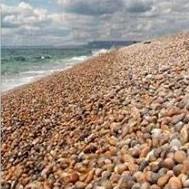 Strand i södra England