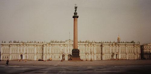 Vinterpalatset med Erimitaget i S:t Petersburg