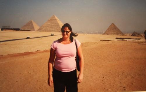 Jag i Giza