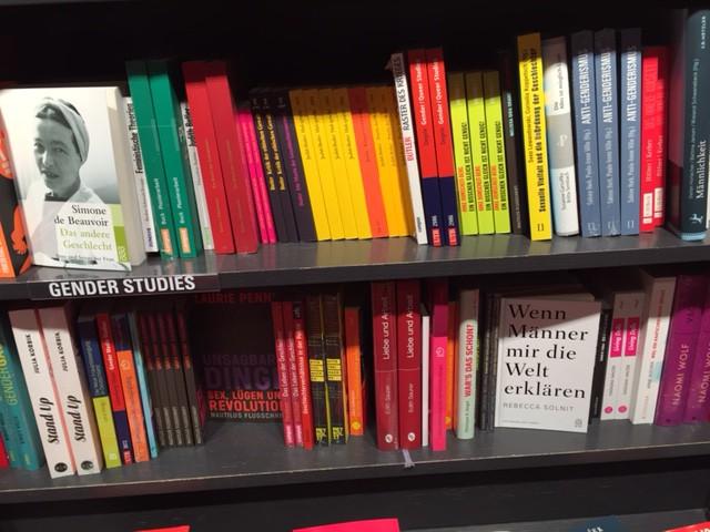 Böcker om feminism på tyska