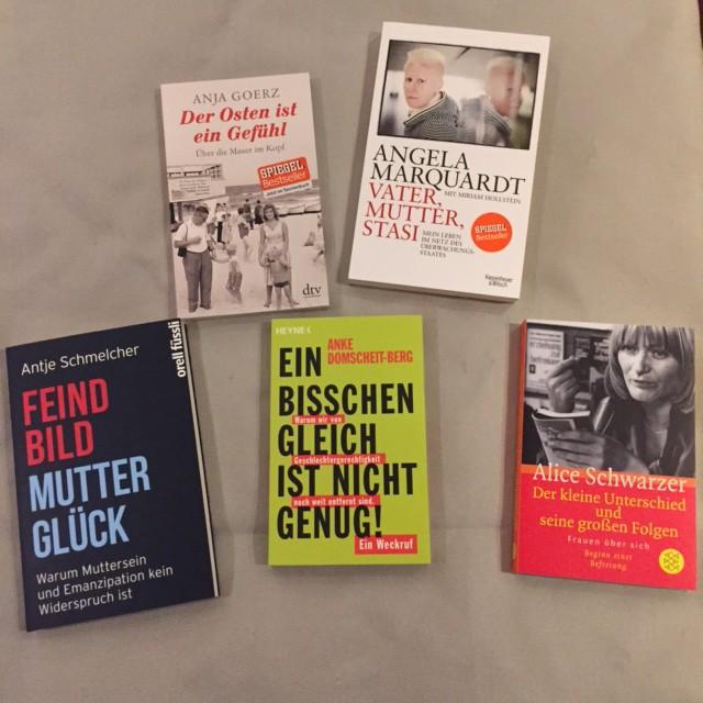 Nya tyska böcker