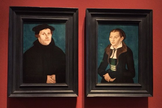 Martin Luther och hans fru