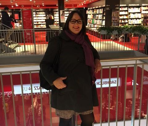Hanna på Drussmann i Berlin
