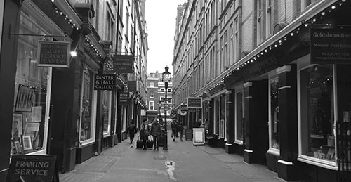 Cecil Court i Soho