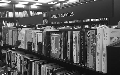 Gender studies Waterstones