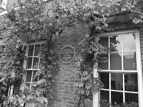 Leonard och Virginia Woolfs hus