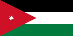 Jordaniens flagga