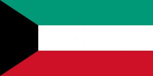 Kuwaits flagga