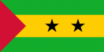 São Tomé and Príncipes flagga