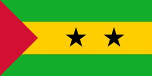 São Tomé and Príncipes flagga