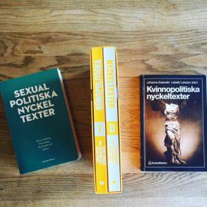Sexualpolitiska nyckeltexter, Könspolitiska nyckeltexter och Kvinnopolitiska nyckeltexter