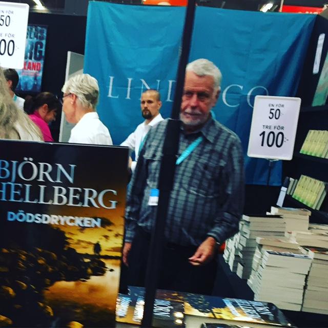Björn Hellberg på bokmässan 2016