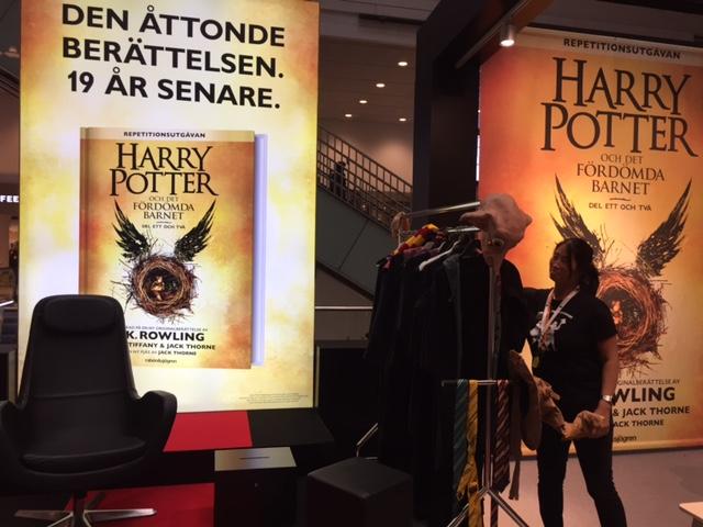 Harry Potterbutik på Centralen