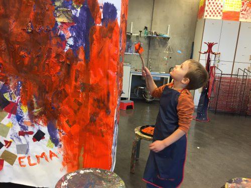 Rum för barn - målarstudio