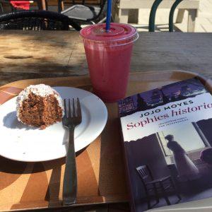 På café med Jojo Moyes