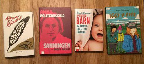 Böcker från Ordfront och Galago