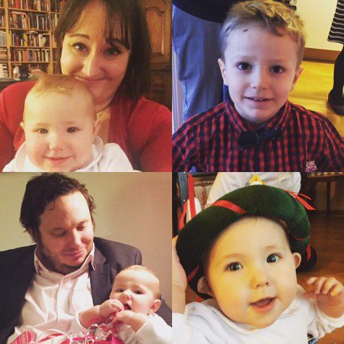 Familjen Lager-Ericson julen 2016