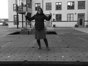 Hanna på Docklands
