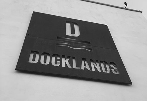 Docklands restaurang