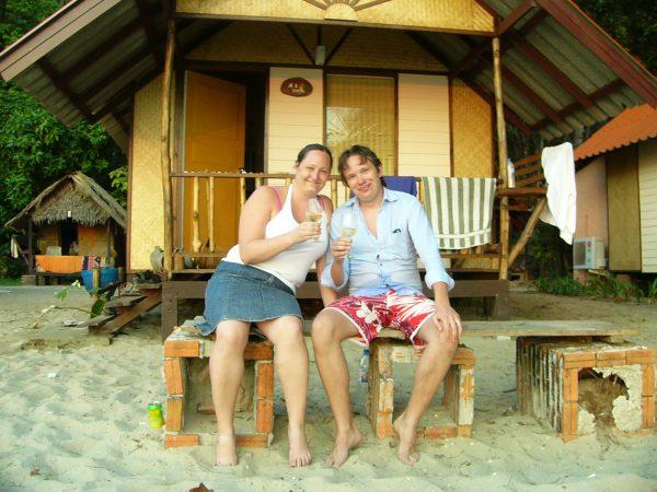30 år på stranden i Thailand