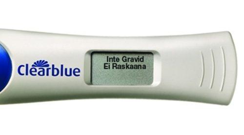 Clearblue digital graviditetstest