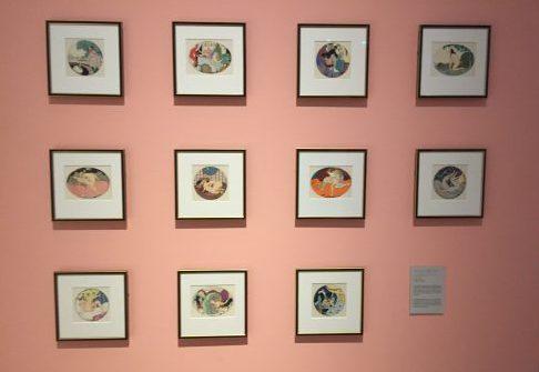 Erotiska teckningar av Greta Wegener