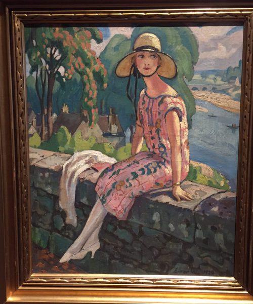 Gerda Wegener av Einar Wegener