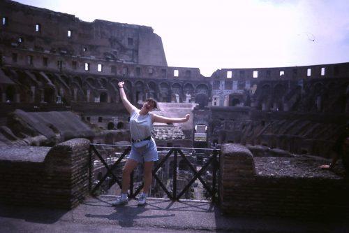 Jag i Rom 1995