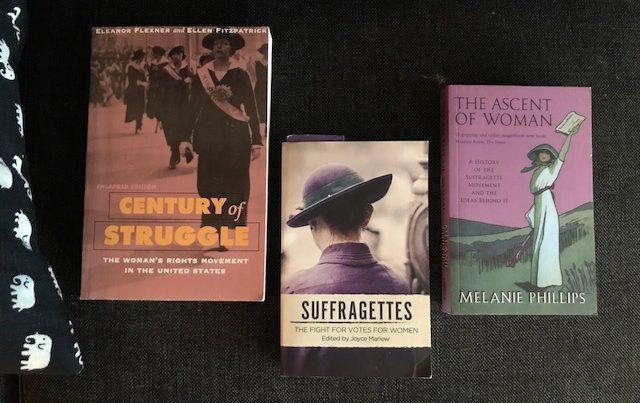 Böcker om suffragetter