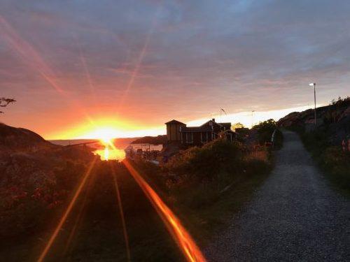 Solnedgång över Landsort