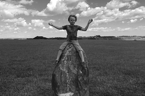 Hugo på Ale stenar