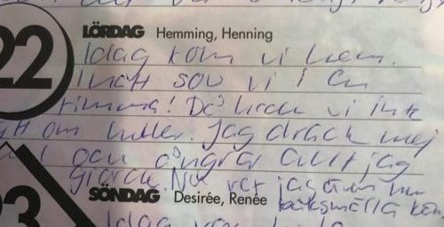 Dagbok från 1993