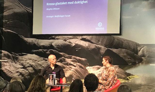 Birgitta Ohlsson på Bokmässan 2017