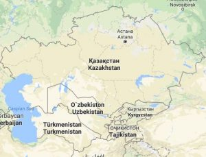 Centralasien
