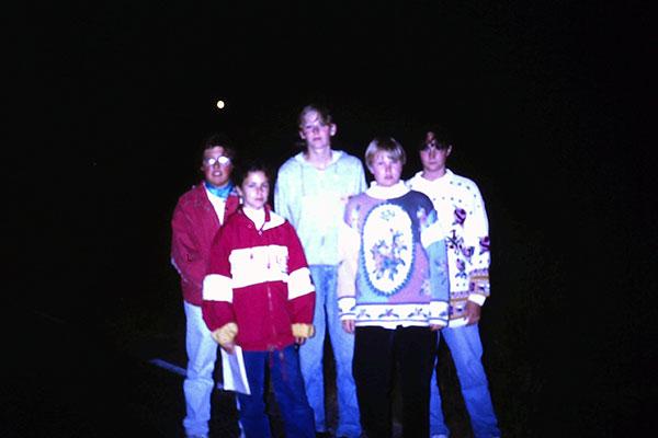 Fån skrivarlägret på Sjölunda 1992