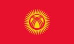 Kirgizistans flagga