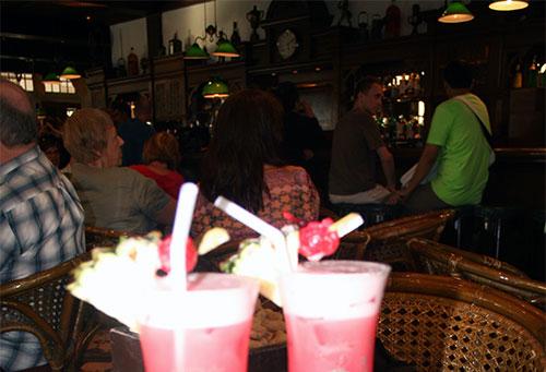 Singapore Sling på Raffles hotell