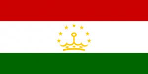 Tadzjikistans flagga