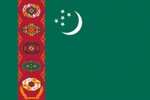 Turkmenistans flagga