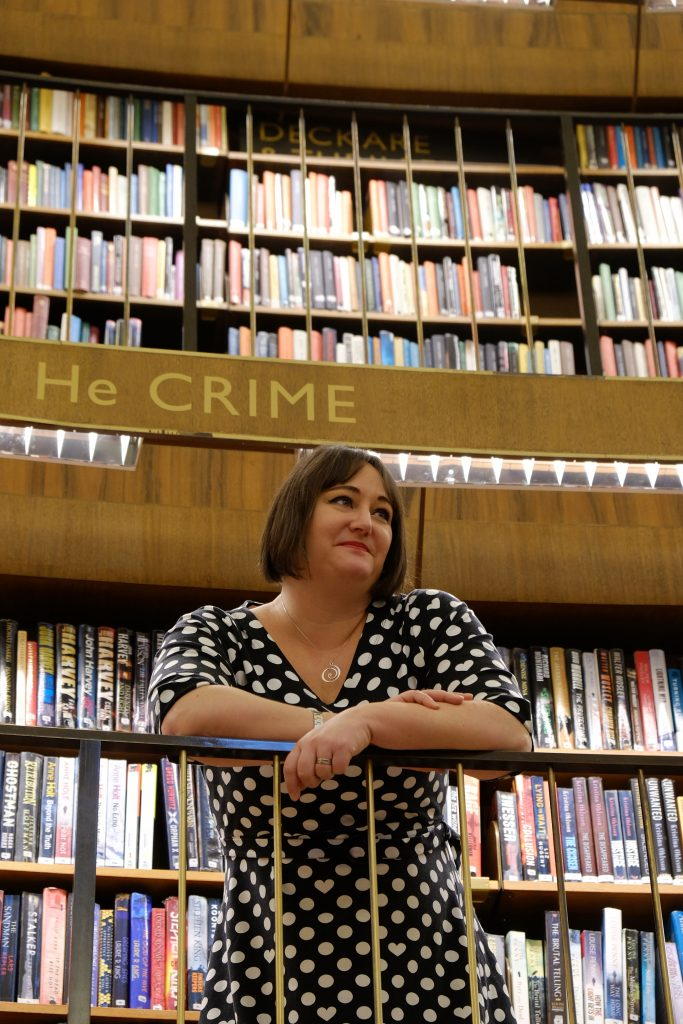 Hanna på bibblan crime foto Christine Öberg