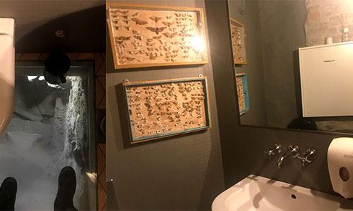 Toalett på Rataskaevu 16 i Tallinn