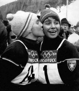 Christine och Marielle Goitschel_1964