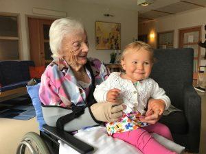Mormor och Selma